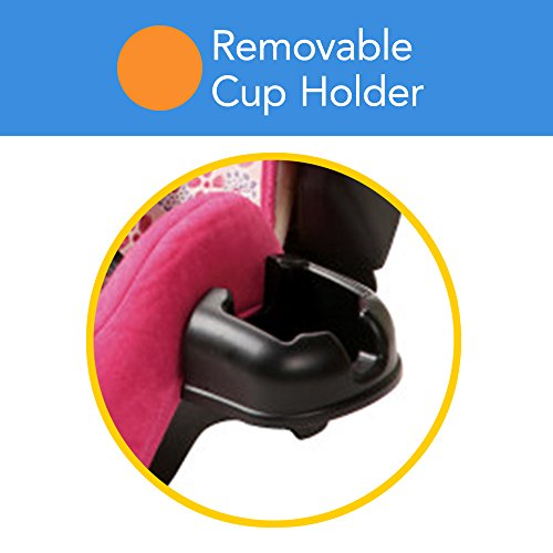 Cosco - Highback 2-in-1 Booster Car Seat - 5-Point Harness or Belt-positioning - Machine Washable Fabric , Ava