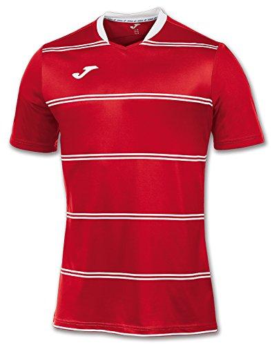 Joma 100159.600 - Camiseta de equipación de Manga Corta para Hombre, Color Rojo, Talla
