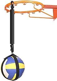 GEZICHTA Volleyball Spike Trainer Volleyball Spike Training System for Basketball Hoop Basketball Hoop Volleyb