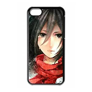 Attack On Titan iPhone 5c Cell Phone Case Black gift pjz003-9371425