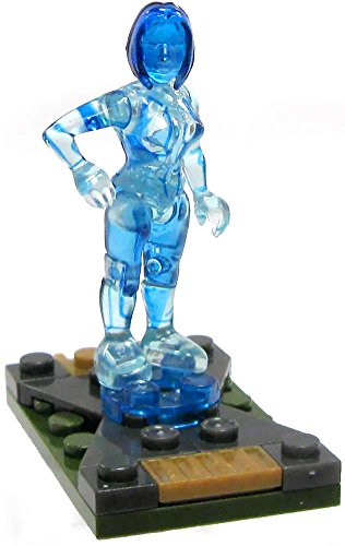 Halo Wars Mega Bloks LOOSE Mini Figure Cortana (Series 4)