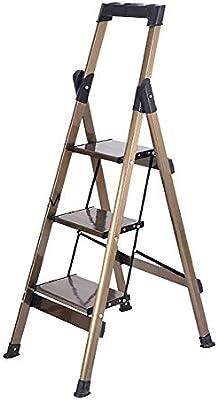 SED Escaleras de Mano Multiusos para el Hogar, Escalera Interior para Silla Taburetes con Escalones Taburetes Plegables Taburetes para Adultos/Personas Mayores, Escalera Portátil de 3 Escalones con: Amazon.es: Bricolaje y herramientas
