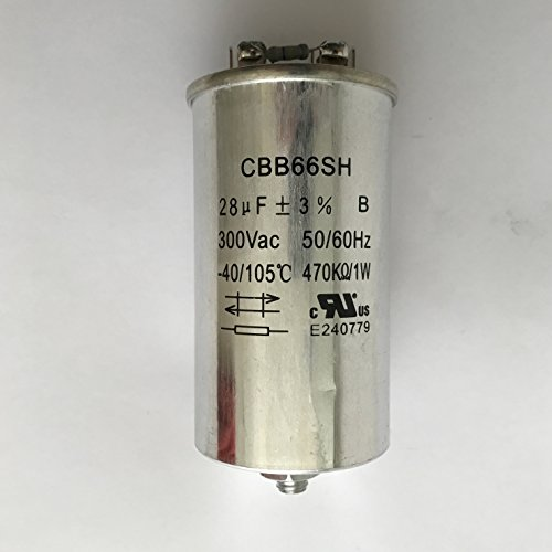 (Capacitor 28uF/300VAC 120-480 Volt for Metal Halide 400 Watt-PS (1 Piece))