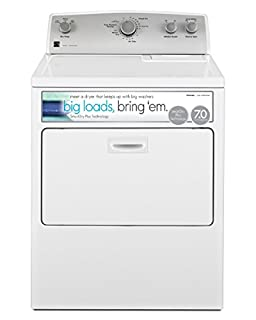 Kenmore 75132 7.0 cu. ft. Gas Dryer with SmartDry Plus Technology in White, includes delivery and hookup (B0745R9RXV)   Amazon price tracker / tracking, Amazon price history charts, Amazon price watches, Amazon price drop alerts
