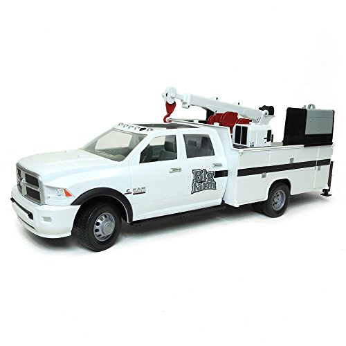 1/16TH ERTL BIG FARM Ram Service (Ertl Toy Trucks)