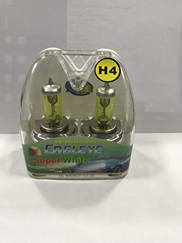 Automotive headlamps, high-light lamps, low-light fog lamps H4 gold halogen lamps, golden eyes