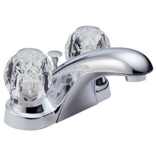 Delta Foundations B2512LF Two Handle Centerset Bathroom Faucet, Chrome by DELTA FAUCET (Image #3)