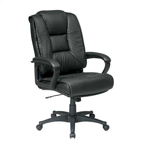 Office Star EX5162-4 Leather High-Back O - Executive Burgundy Leather Shopping Results