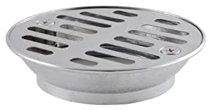 LDR 502 5220 Shower Drain with Strainer, 2-Inch I.P.S., Stainless Steel