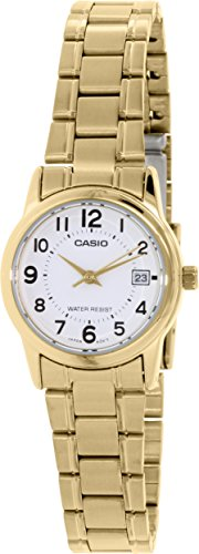 Casio Womens LTPV002G 7B Stainless Steel Quartz
