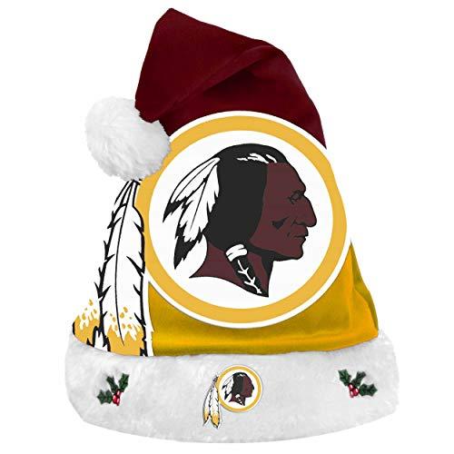 Redskins Santa - FOCO NFL Washington Redskins Unisex 2018 Basic Santa Hat2018 Basic Santa Hat, Team Color, One Size