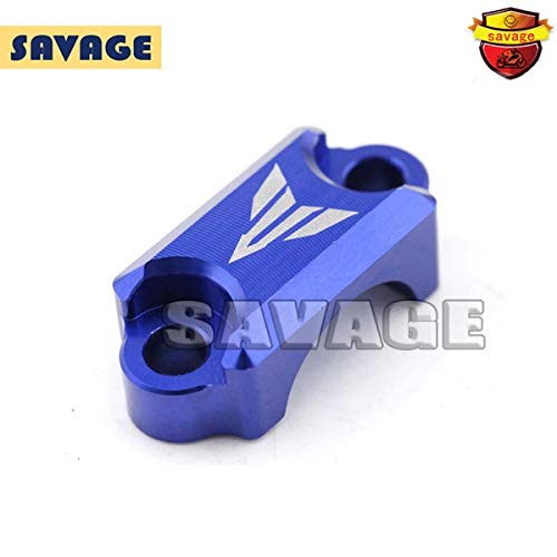 Frames & Fittings Motorcycle CNC Aluminum Brake Master Cylinder Clamp Handlebar Clamp Cover for Yamaha YZF-R3 YZF-R25 2014-2015 Blue