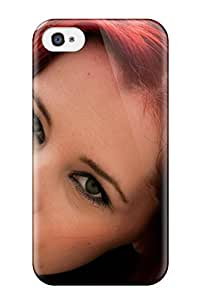 New Snap-on ZippyDoritEduard Skin Case Cover Compatible With Iphone 4/4s- Women Redheads