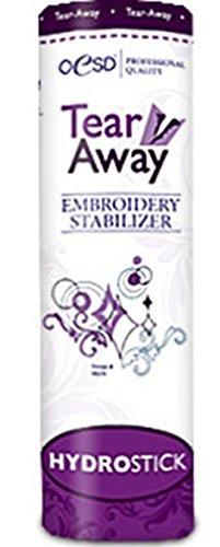 OESD Hydro Stick Tear-Away Embroidery Stabilizer 1.5oz White 10