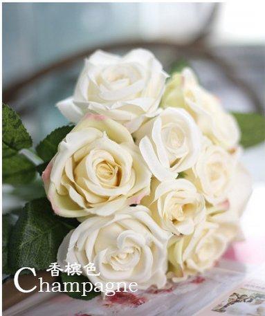 Mazzo Di Fiori Video.Jiale3536 Fiori Finti Fiori Artificiali Fiore Un Bouquet Di Rose
