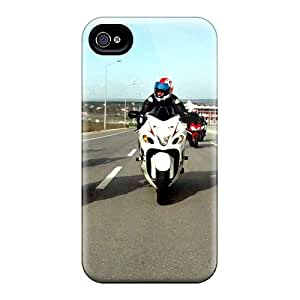 Bumper Hard Phone Covers For Iphone 6plus With Unique Design Lifelike Hayabusa Series KaraPerron
