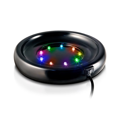 WavePoint color Tansformer LED Fish Bowl Base, Small by WavePoint