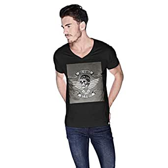 Creo Give Respect T-Shirt For Men - S, Black