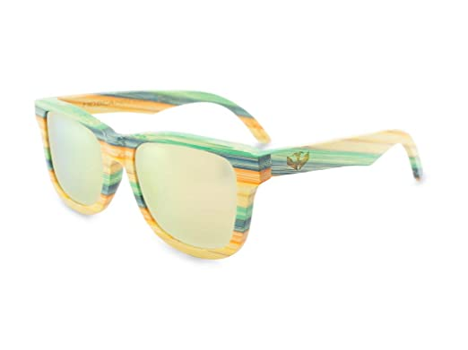 Gafas de sol madera MOSCA NEGRA modelo COOLBAM and Rose ...
