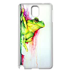Best Quality [LILYALEX PHONE CASE] Frog Artwork For Samsung Galaxy NOTE4 CASE-12