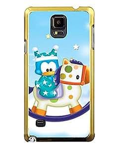 Samsung Galaxy Note 4 Funda Con Pretty Penguin Picture Para Children
