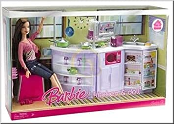 Barbie My House Kitchen Doll Amazoncouk Toys Games