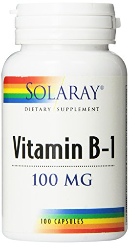 Solaray B-1 Supplement, 100mg, 100 Count