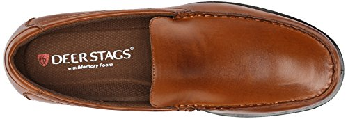 Deer Stags Men's Norman Slip-on Loafer Luggage q7Lbi4KnnY
