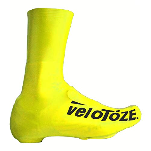 veloToze Tall Shoe Cover - Viz-Yellow Large (Cycling Shoe Covers)