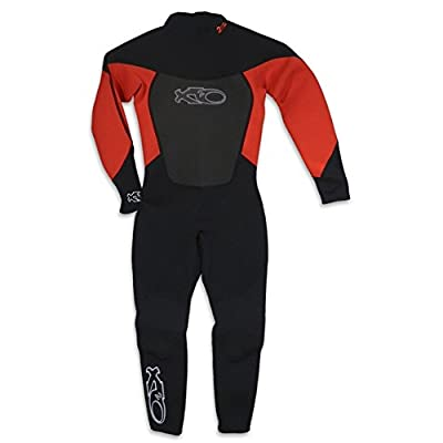X2O Junior Boys Full Wetsuit, Red, X-Large