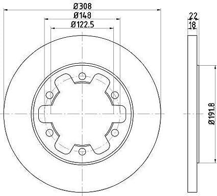 Mintex Brake Discs MDC2698