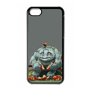 iPhone 5c Cell Phone Case Black Defense Of The Ancients Dota 2 TINY 002 LWY3546708KSL