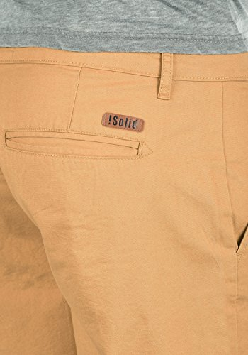 100 Homme Chino Short Thement solid Court Apple Pour Bermuda Pantalon Coupe Cinnamon 6591 Regular Coton 408wq