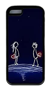 Distinct Waterproof I Love You Design Your Own iPhone 5c Case