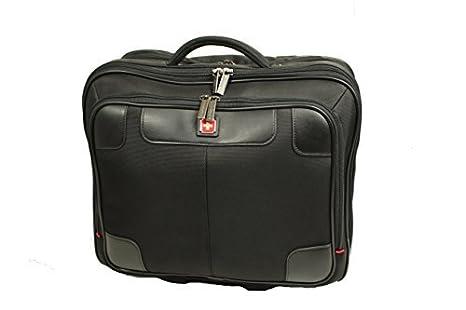Swissbrand carro para el ordenador portátil, carro de negocios, maleta (negro)