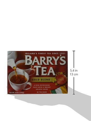 Barrys Gold Blend Tea Bags, 80 Count, 8.8 Ounce (Pack of 6) by Barry's Tea (Image #6)