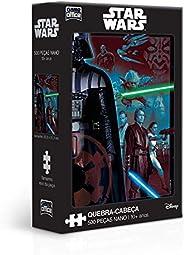Star Wars Ep. I, II e III - Quebra-Cabeça - 500 peças Nano