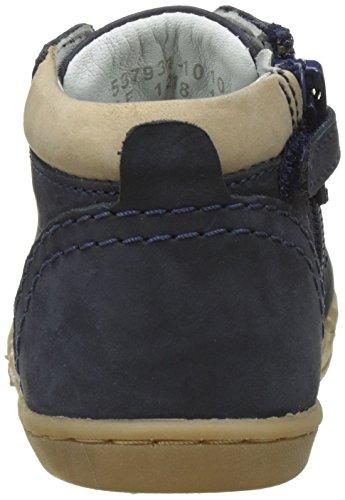 Kickers Tackland - Primeros Pasos de Otra Piel Bebé-Niñas azul (Marine)