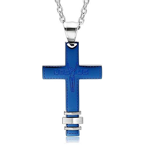 knbob-stainless-steel-mens-necklaces-jesus-crucifix-cross-blue-pendant-necklace