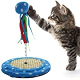 Pets FirstCat Toy Punching Bag Ball Fun Activity with Scratching Board - Entertain