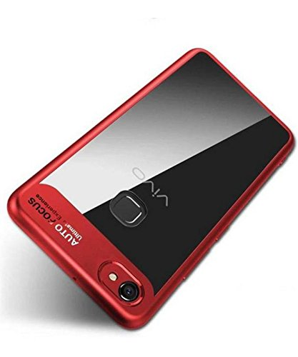 low priced 5b5d5 35442 COVERNEW Back Cover for Vivo Y71i - RED: Amazon.in: Electronics
