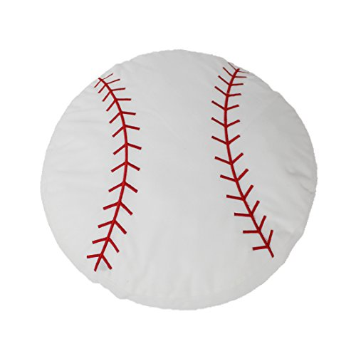CatchStar Baseball Plush Sofa Cushion Pillow Toy 17.2