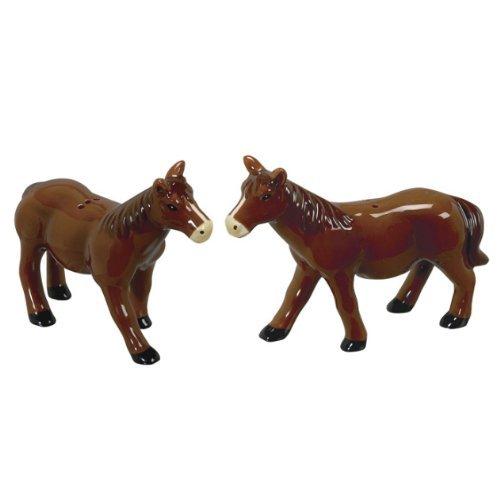 Willfred Ceramics - J Willfred Horse Salt & Pepper Pair