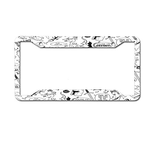merlin license plate frame - 2