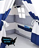 Kids Teepee Tent for Kids, No Toxic Chemicals