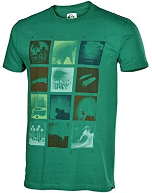 Men's Millionaires Graphic T-Shirt Small Green