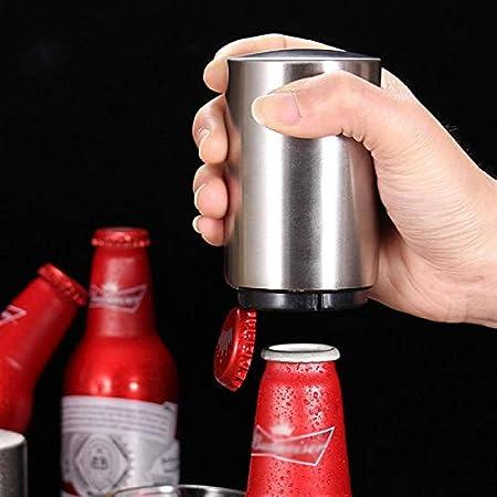 RJ Home Abrote de Cerveza automática magnética Botella de Acero Inoxidable Sacacorchos Portátil Magnet Botella de Vino Abres Bar Herramienta Accesorios de Cocina (Color : Multi)