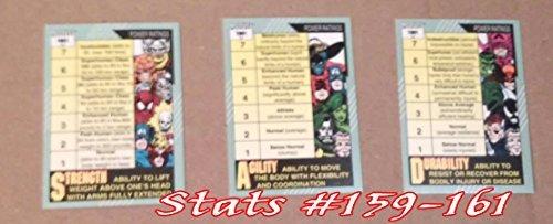Marvel Universe Series 2 Complete 162 Card Set (1991)