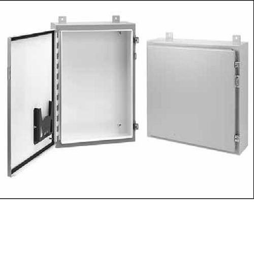 Hoffman A242408LP Wall-Mount Enclosure, NEMA 12/13, Steel, 24.00