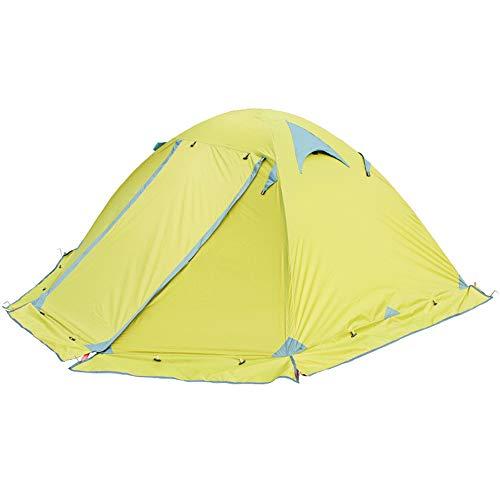 宿題をする算術北米屋外テント、キャンプテント、ダブルダブルアルミポールアンチストーム旅行キャンプテント (色 : A)